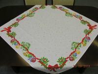 Vánoční ubrus bavlna 50x100 cm; vzor 1 Vánoční ubrus bavlna 50x100 cm; vzor 1