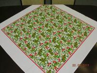 Vánoční ubrus 100x100 cm; vzor 3 Vánoční ubrus 100x100 cm; vzor 3