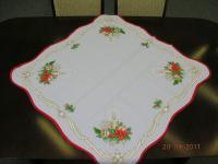 Vánoční ubrus – průměr 86 cm; vzor 3 Vánoční ubrus – průměr 86 cm; vzor 3