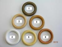 GARNÝŽE příslušenství - kroužek dřevo GARNÝŽE příslušenství - kroužek dřevo